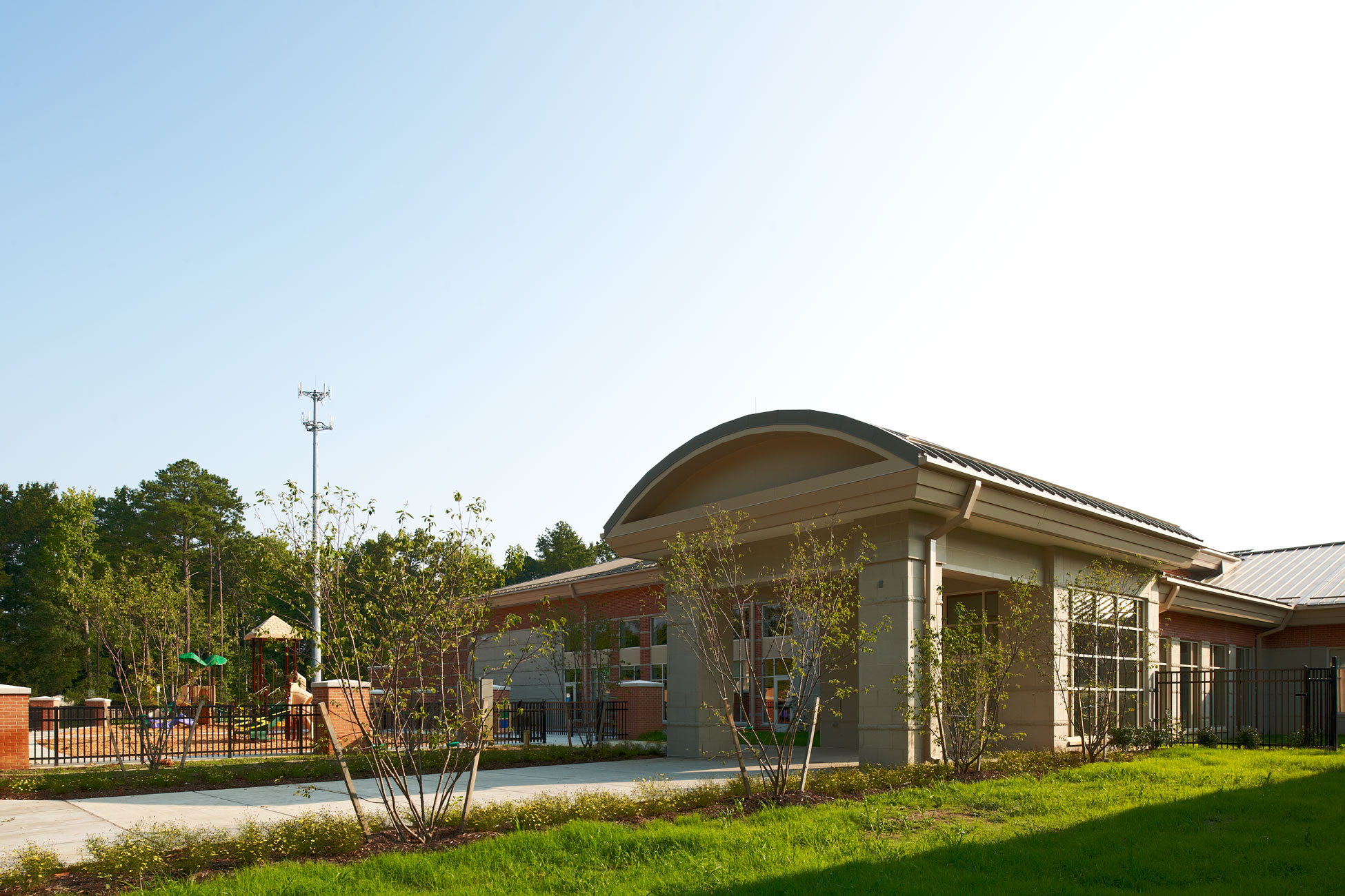 Kimley-Horn provided infrastructure planning and site design services to Hampton Public Schools for the construction of two middle/elementary schools.