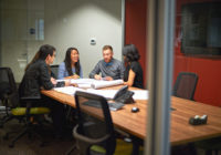Kimley-Horn Employees in a Meeting